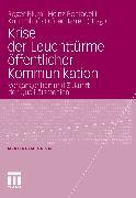 Cover-Bild zu Krise der Leuchttürme öffentlicher Kommunikation (eBook) von Blum, Roger (Hrsg.)