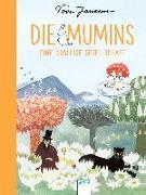 Cover-Bild zu Jansson, Tove: Die Mumins. Eine drollige Gesellschaft