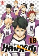 Cover-Bild zu Furudate, Haruichi: Haikyu!! - Band 18
