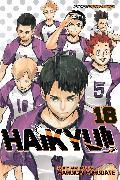 Cover-Bild zu Haruichi Furudate: Haikyu!!, Vol. 18