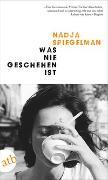 Cover-Bild zu Spiegelman, Nadja: Was nie geschehen ist