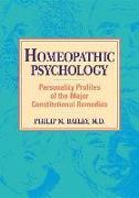 Cover-Bild zu Homeopathic Psychology von BAILEY, Philip M.