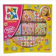 Cover-Bild zu 1.000 Mädchen Sticker