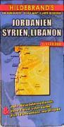 Cover-Bild zu Jordanien, Syrien, Libanon 1 : 1 250 000. Hildebrand's Urlaubskarte