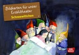 Cover-Bild zu Bildkarten für unser Erzähltheater: Schneewittchen von Lefin, Petra (Illustr.)