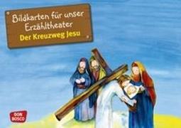 Cover-Bild zu Bildkarten für unser Erzähltheater. Der Kreuzweg Jesu von Lefin, Petra (Illustr.)