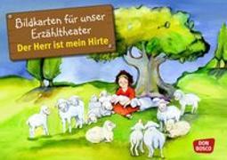 Cover-Bild zu Bildkarten für unser Erzähltheater: Der Herr ist mein Hirte (Psalm 23) von Lefin, Petra (Illustr.)