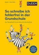 Cover-Bild zu So schreibe ich fehlerfrei in der Grundschule von Holzwarth-Raether, Ulrike