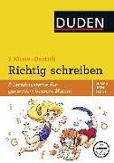 Cover-Bild zu Wissen - Üben - Testen: Deutsch - Richtig schreiben 2. Klasse von Holzwarth-Raether, Ulrike
