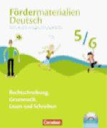 Cover-Bild zu Fördermaterialien Deutsch 5./6. Schuljahr. Tests, Kopiervorlagen, Lösungsblätter