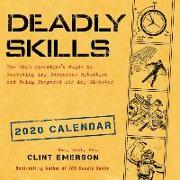 Cover-Bild zu Deadly Skills 2020 Wall Calendar von Emerson, Clint
