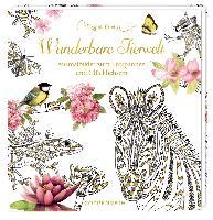 Cover-Bild zu Ausmalbuch - Wunderbare Tierwelt - Marjolein Bastin von Bastin, Marjolein (Illustr.)