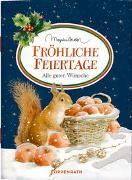 Cover-Bild zu Fröhliche Feiertage von Bastin, Marjolein (Illustr.)