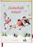 Cover-Bild zu Notizbuch mit glitzerndem Stoffeinband - Zauberhaft notiert! (M. Bastin) von Bastin, Marjolein (Illustr.)