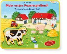 Cover-Bild zu Mein erstes Puzzlespielbuch. Tiere auf dem Bauernhof von Golze, Lisa