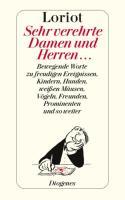 Cover-Bild zu Sehr verehrte Damen und Herren von Loriot