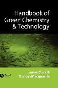 Cover-Bild zu Handbook of Green Chemistry and Technology von Clark, James H.