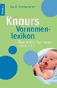 Cover-Bild zu Knaurs Vornamenlexikon von Zimmermann, Dorit
