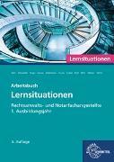 Cover-Bild zu Rechtsanwalts- und Notarfachangestellte, Lernsituationen 1. Ausbildungsjahr von Behr, Andreas