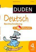 Cover-Bild zu Deutsch in 15 Minuten - Rechtschreibung 4. Klasse von Hennig, Dirk (Illustr.)