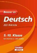 Cover-Bild zu Besser in Deutsch - 222 Diktate 5.-10. Klasse von Gerstenmaier, Wiebke