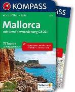 Cover-Bild zu KOMPASS Wanderführer Mallorca. 1:100'000 von Heitzmann, Wolfgang