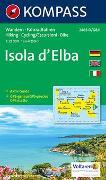 Cover-Bild zu KOMPASS Wanderkarte Isola d' Elba. 1:25'000 von KOMPASS-Karten GmbH (Hrsg.)