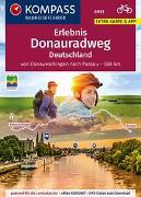 Cover-Bild zu KOMPASS RadReiseFührer Erlebnis Donauradweg Deutschland von Enke, Ralf