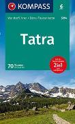 Cover-Bild zu KOMPASS Wanderführer Tatra. 1:50'000 von Will, Michael