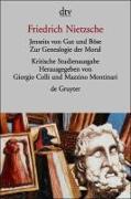 Cover-Bild zu Jenseits von Gut und Böse. Zur Genealogie der Moral von Nietzsche, Friedrich
