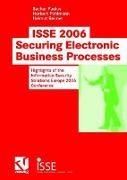 Cover-Bild zu ISSE 2006 Securing Electronic Business Processes von Paulus, Sachar (Hrsg.)