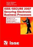 Cover-Bild zu ISSE/SECURE 2007 Securing Electronic Business Processes von Pohlmann, Norbert (Hrsg.)