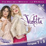 Cover-Bild zu Disney/Violetta - Staffel 2: Folge 7 + 8 (Audio Download) von Weigand, Kathrin