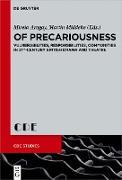 Cover-Bild zu Of Precariousness (eBook) von Middeke, Martin (Hrsg.)