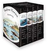 Cover-Bild zu Jules Verne - Romane (Vier Bände im Schuber) von Verne, Jules