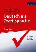 Cover-Bild zu Deutsch als Zweitsprache von Kniffka, Gabriele