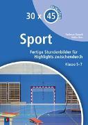 Cover-Bild zu 30 x 45 Minuten - Sport von Rausch, Andreas