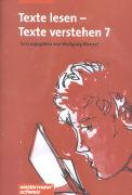 Cover-Bild zu Texte lesen - Texte verstehen 7. Schülerheft von Menzel, Wolfgang (Hrsg.)