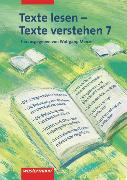 Cover-Bild zu Texte lesen - Texte verstehen 7. Arbeitsheft von Henke, Roland