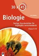 Cover-Bild zu 30 x 45 Minuten - Biologie von Dankbar, Julia