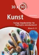 Cover-Bild zu 30 x 90 Minuten Kunst von Blahak, Gerlinde
