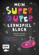 Cover-Bild zu Mein superduper Lernspielblock von Thißen, Sandy (Illustr.)