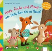 Cover-Bild zu Hase, Fuchs und Maus - wen besuchen sie zu Haus? von Richert, Katja