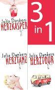 Cover-Bild zu Dankers, Julia: Herzkasper / Herztanz / Herztour (3in1-Bundle) (eBook)