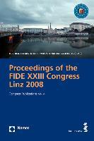 Cover-Bild zu Proceedings of the FIDE XXIII Congress Linz 2008 von Koeck, Heribert Franz (Hrsg.)