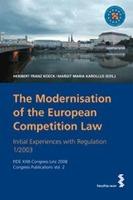 Cover-Bild zu The Modernisation of the European Competition Law von Koeck, Heribert Franz (Hrsg.)