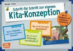 Cover-Bild zu Schritt für Schritt zur eigenen Kita-Konzeption von Franz, Margit