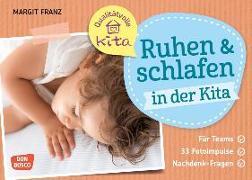 Cover-Bild zu Ruhen und schlafen in der Kita von Franz, Margit
