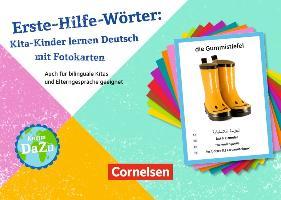Cover-Bild zu Erste-Hilfe-Wörter: Kita-Kinder lernen Deutsch mit Fotokarten