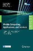 Cover-Bild zu Mobile Computing, Applications, and Services von Sigg, Stephan (Hrsg.)